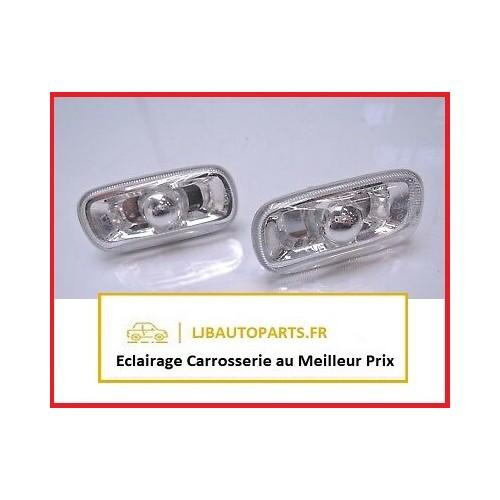 2 Clignotant répétiteur transparent AUDI A6 2004 à 2011 OE 8E0949127