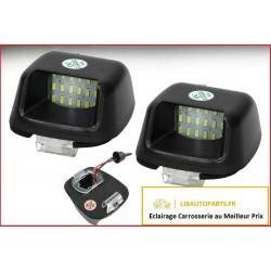 2 Feu plaque immatriculation LED Nissan Navara d40 apres 2005