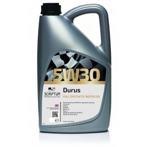 Scriptum Durus 5W30 moteur Groupe VW-Audi G , BMW et Daimler Benz normes ACEA C3.