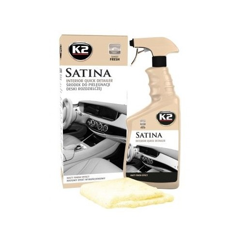 K2 SATINA SUNSET FRAIS 770 ML + MICROFIBRE