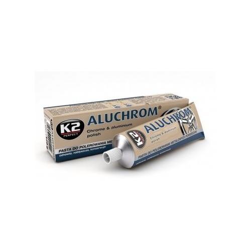 K2 ALUCHROM 120 G Nettoie et brille les surfaces métalliques
