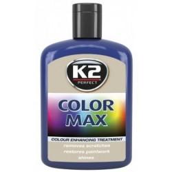 K2 cire brillante MAX 200 ML Couleur bleu