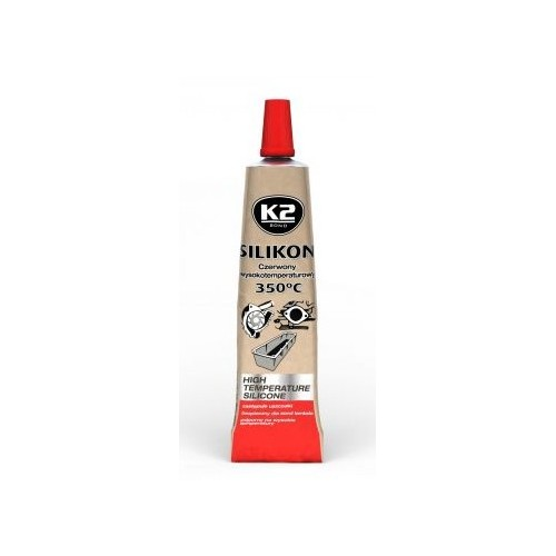 K2 Silicone rouge à haute température +350°C 21 G