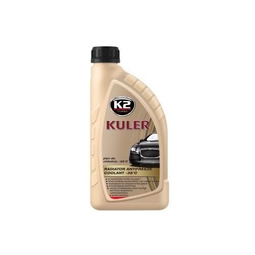 K2 KULER LONG LIFE 1L Liquide de refroidissement rouge -35C Antigel