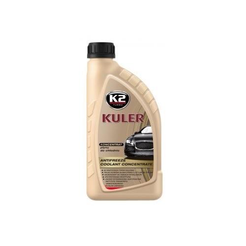 K2 KULER Concentré Liquide de refroidissement rouge -35C Antigel