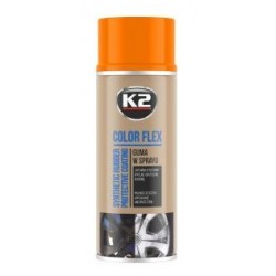 K2 Color Flex bombe peinture-film jantes couleur orange 400ml