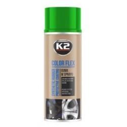 K2 Color Flex bombe peinture-film jantes couleur vert clair 400ml