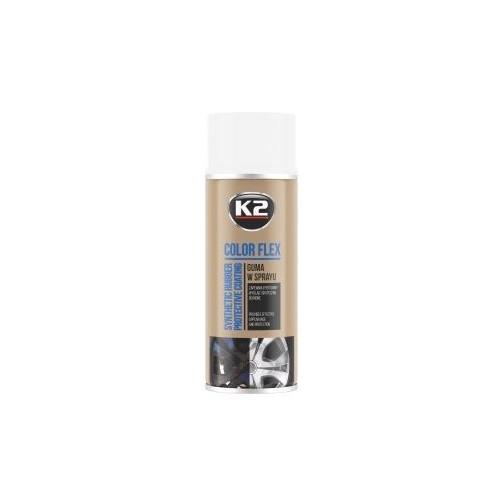 K2 Color Flex bombe peinture-film jantes couleur vert blanc 400ml