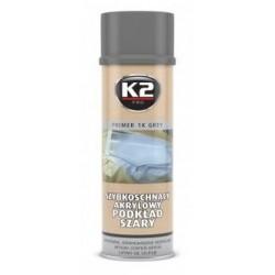 Bombe 500 ML Peinture K2 Couche d'apprêt gris à séchage rapide