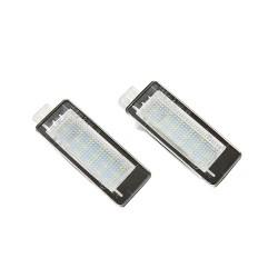 2 Feu de Plaque d'immatriculation LED RENAULT Modus 2004 à 2012