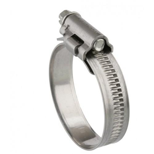 Mikalor DIN 3017 Collier à vis sans fin Série lourde W1 Taille 50 / 70 mm