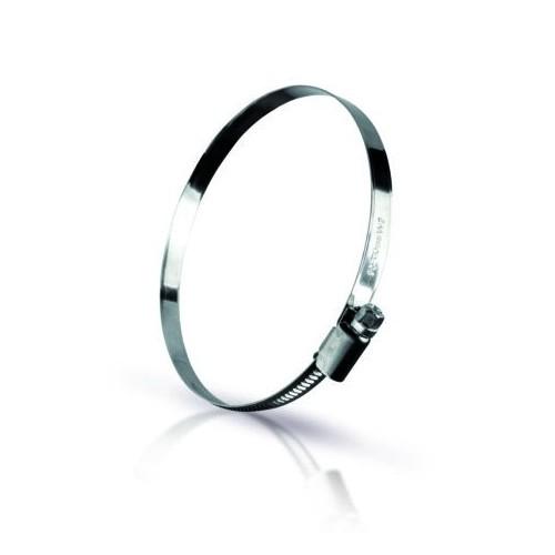 collier à vis sans fin acier inoxydable W2 Taille 32-50 / 9mm