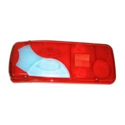 Cabochon Bleu-Rouge Feu arrière gauche VW Crafter (2E) 2005 à 2017