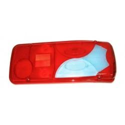 Cabochon Bleu-Rouge Feu arrière droit VW Crafter (2E) 2005 à 2017